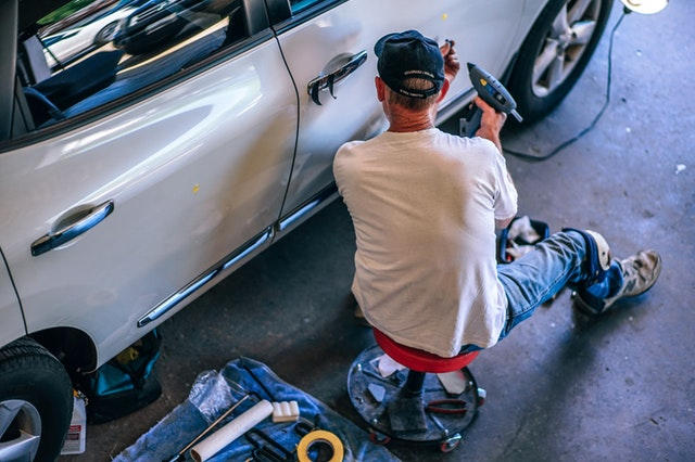 auto repair workers compensation